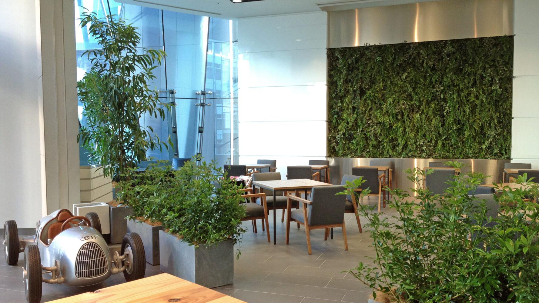 Audi Cafe 事例画像