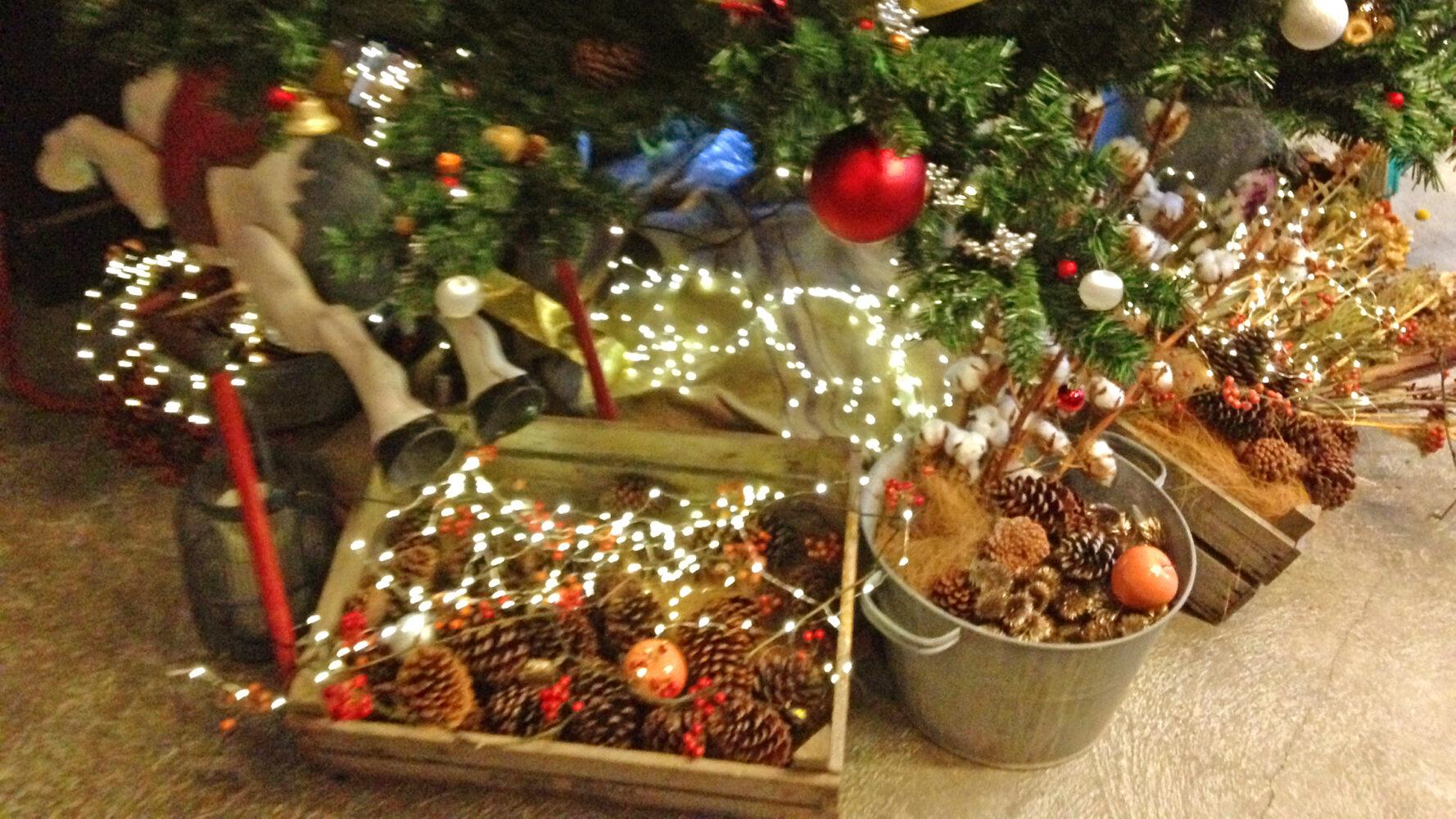 BANK BOOK BAR Christmas display 事例画像2