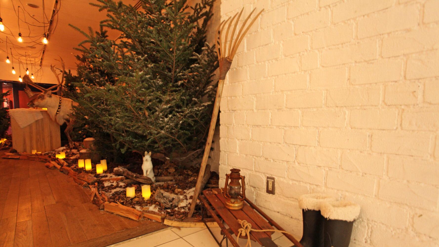 (marunouchi) HOUSE Christmas display 事例画像7